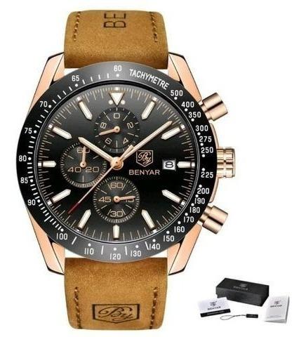 Relógio Pulso - Benyar - 45mm - Multifuncional