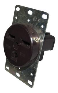 Toma Industrial Embutida Nema 6-30r 2p+t 250v 30a Cable 4-10