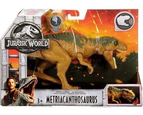Jurassic World Dinosaurio Metriacanthosaurus Rugido Mattel