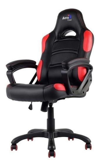 Cadeira Gamer Aerocool Ac80c Preta/vermelha - En55048