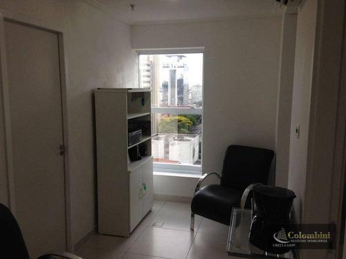 Imagem 1 de 10 de Sala Para Alugar, 40 M² Por R$ 1.300,00/mês - Centro - São Caetano Do Sul/sp - Sa0381