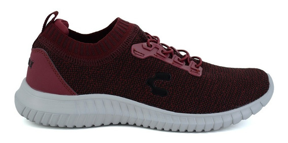 Tenis Charly Para Hombre 1029362 Vino [chy2591]