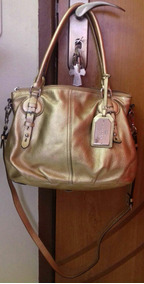 Bolsa Dourada Ralph Lauren (original)