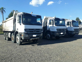 Caminhão Caçamba Mercedes Actros 4844 Basculante 8x4