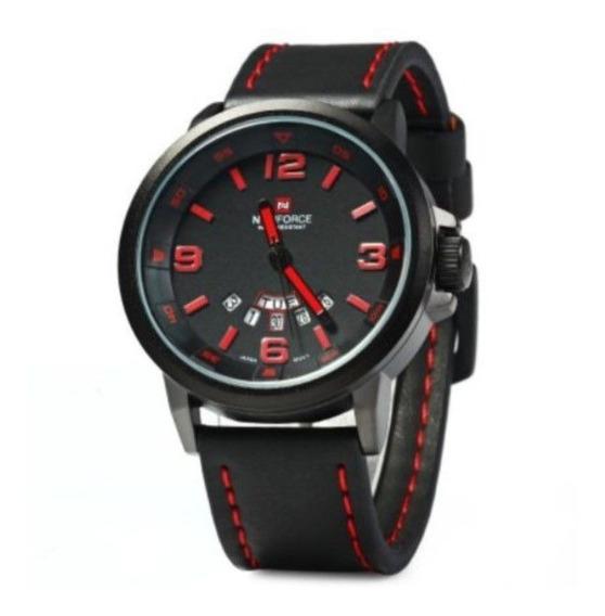 Relógio Masculino Naviforce Mod Nf9028 Esporte Militar 30m