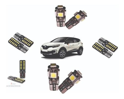Imagem 1 de 4 de Kit Lâmpadas Led Premium Renault Captur 8000k