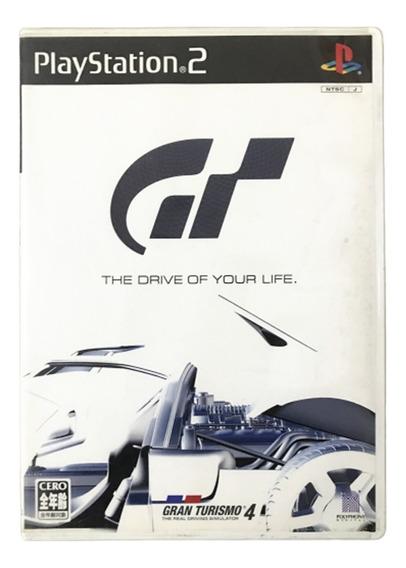 Gran Turismo 4 - Japones - Playstation 2 Original