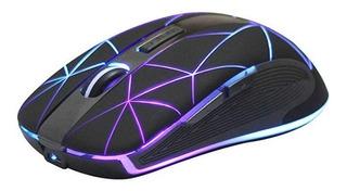 Mouse Inalámbrico Rm200 Ergonomico Recargable Iluminado 2,4g