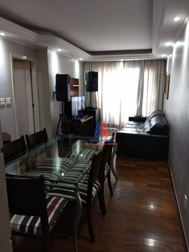 Apartamento Com 3 Dormitórios À Venda, 100 M² Por R$ 510.000 - Ed. Paraty - Santo Antônio - Americana/sp - Ap0200