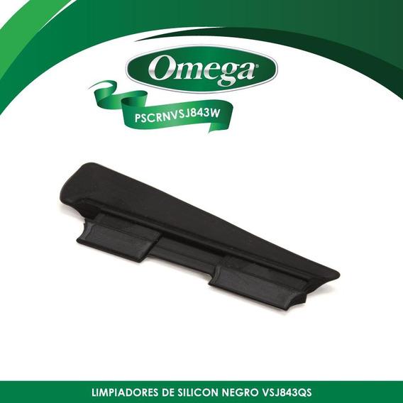 Refacción Limpiadores De Silicón Vsj843 Omega Pscrnvsj843w