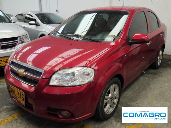 Chevrolet Aveo Emotion 4p 1.6 F.e.2012 Rml345