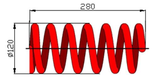 Espiral Delantero Mitsubishi L200 Cada Uno