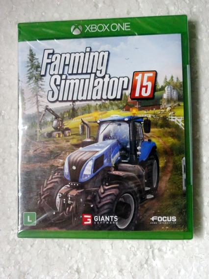 Farming Simulator 15 Xbox One Mídia Física Original Lacrado!