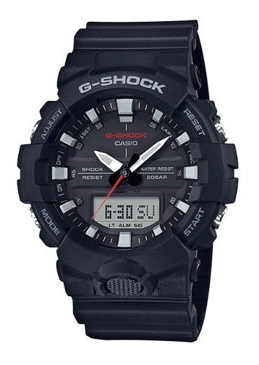 Relógio Casio G-shock Masculino Ga-800-1adr Original