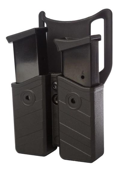 Porta Cargador Polimero Doble Universal Bersa/beretta/taurus/glock/browning/sig Sauer Etc.