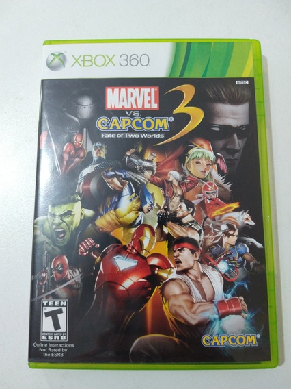 Marvel Vs Capcom 3 Fate Of Two Worlds Xbox 360