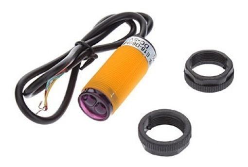 Sensor Reflexivo Infravermelho Distância Ajustável E18-d80nk