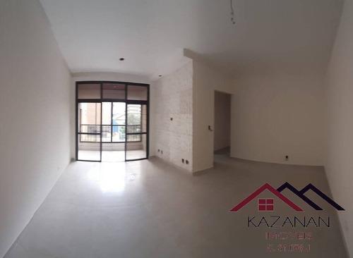 Apartamento 2 Dormitórios - 1 Vaga De Garagem Demarcada - Gonzaga - Santos - 5064