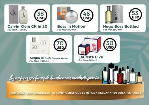 Perfumes Para Hombre Originales  Venta Quito Hugo Boss