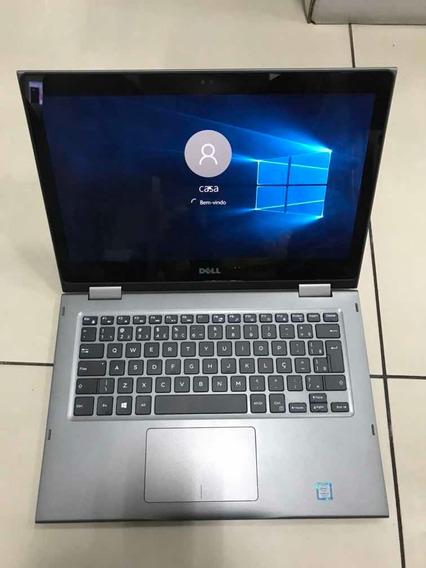 Notebook Dell 2 Em 1 Core I3 Sétima Geração 2.40ghz, 1tb/8g