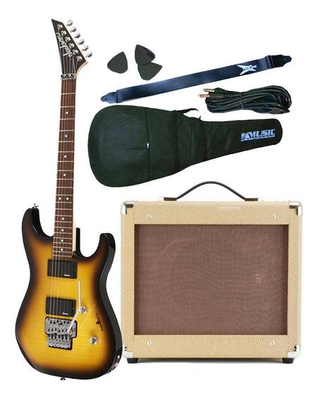 Combo Guitarra Jackson Dinky + Amplificador 25w + Accesorios