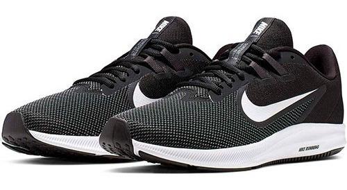 Tenis Nike Downshifter 9 Black Tallas Del #25 Al #30 Hombre