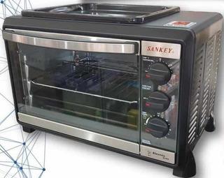 Horno Eléctrico Cocina Sankey Rostizador Acero Nuevo Tienda