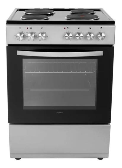 Cocina Electrica Atma Cch062p Hotplate 60cm Luz Interior Pce