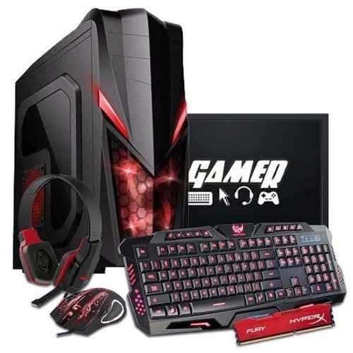 Pc Gamer Tela 19 Amd Fx 8320e, Gtx 1050ti 4gb, 16gb, Ssd