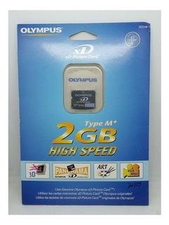 Cartão Xd De 2gb Para Máquina Olympus M+ 202249