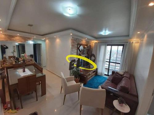 Imagem 1 de 24 de Apartamento Com 2 Dormitórios, 63 M² - Venda Por R$ 339.200,00 Ou Aluguel Por R$ 1.990,00/mês - Vila Menk - Osasco/sp - Ap2047