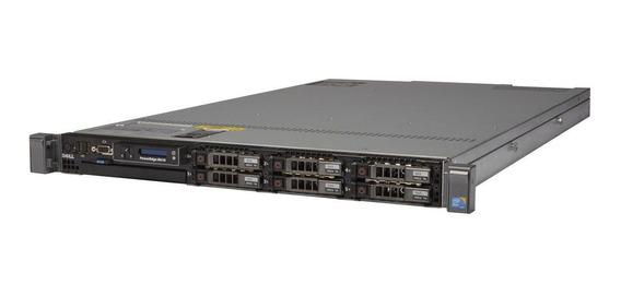 Servidor Dell Poweredge R610 Com 1x Processador Intel Xeon E5645 Quadcore 2.4ghz 10mb Cache 16gb Ddr3 1x 500gb Sata Nf