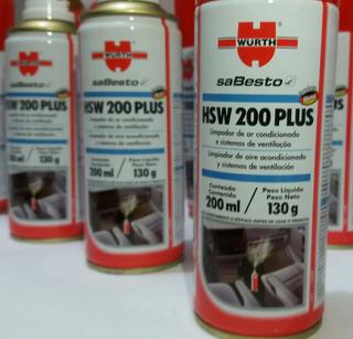 Produto Para Higienização E Limpeza Do Ar Condicionado Carro Wsw 200 Plus Wurth