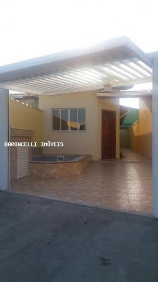 Casa A Venda Em Itanhaém, Balneário Jd. São Fernando, 3 Dormitórios, 1 Suíte, 2 Banheiros, 2 Vagas - Rb 0347