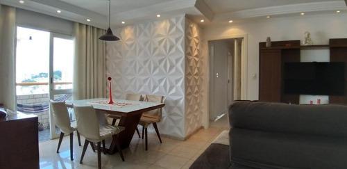 Apartamento Com 3 Dormitórios À Venda, 98 M² Por R$ 494.000,00 - Mandaqui (zona Norte) - São Paulo/sp - Ap9859