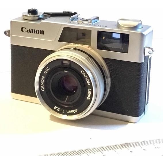 Cámara Fotográfica Analógica Cannonet