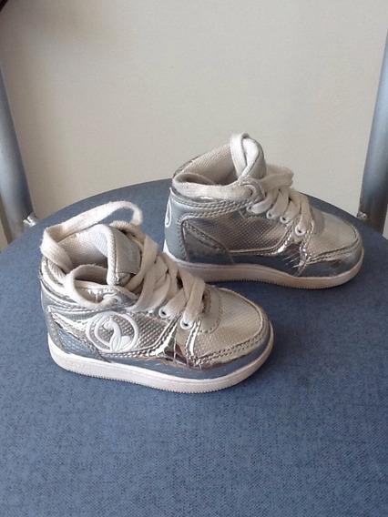 Zapatillas Plateadas Baby Phat
