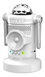 Ion Partybot Parlante Portatil Robot Con Luces Led Bluetooth