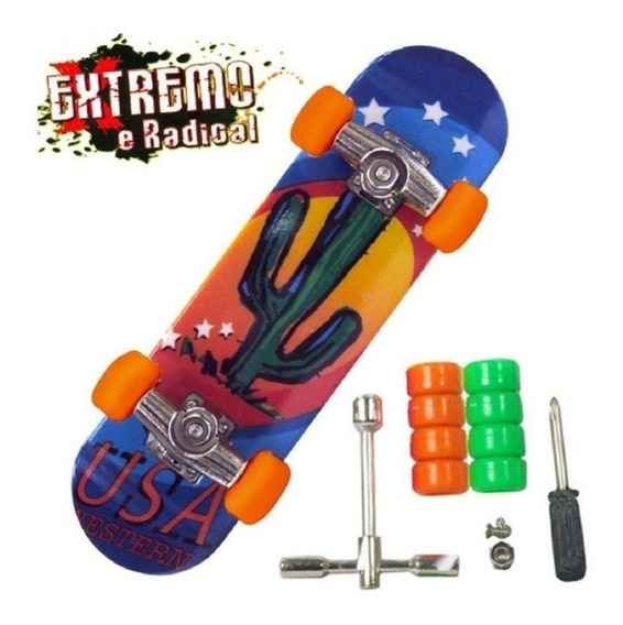 Skate De Dedo - Extremo E Radical - Dtc 3752