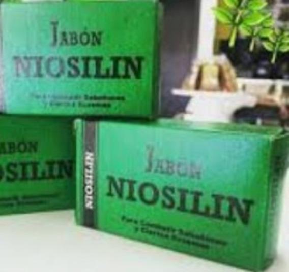 Niosilin Barra Originales. Nuevos 3x1