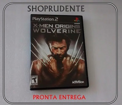 X-men Origins Wolverine Playstation 2 Original