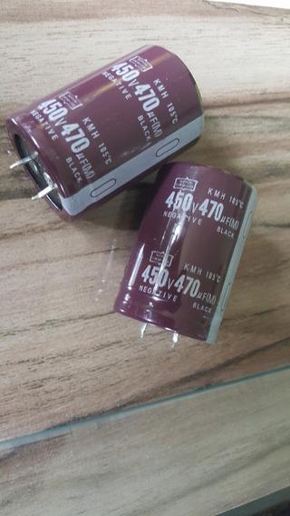 Capacitor Eletrolitico 470uf 450v 105c