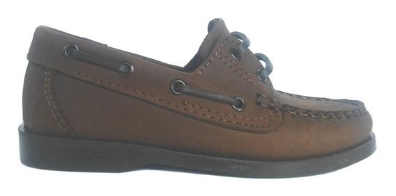 Zapato Escolar Niño Nene Cuero Cordones Colegial Suela Febo