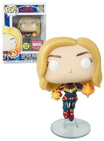 Funko Pop! Capitã Marvel #446 Exclusivo Collectors Corp.