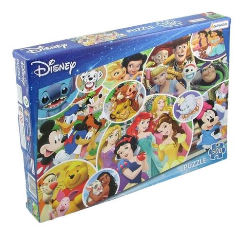 Imagen 1 de 3 de Puzzle 500 Piezas Disney Pixar Rompecabezas Juego De Mesa
