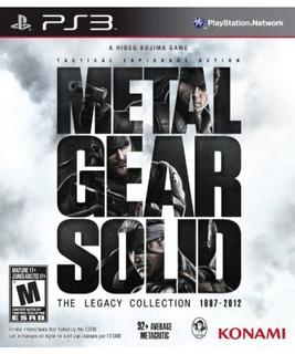 Metal Gear Solid: La Colección Legacy