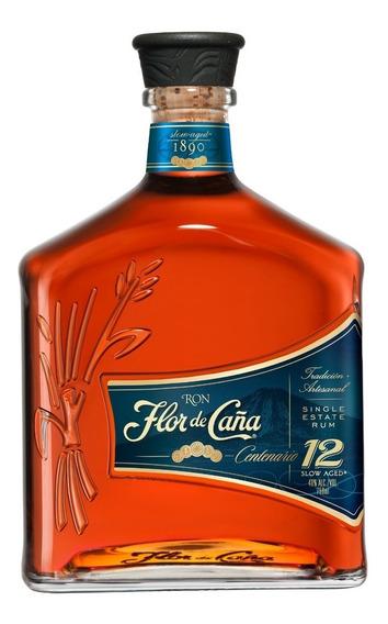 Ron Flor De Caña 12 Años 750 Ml Bodegas La Negrita