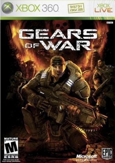 Gears Of War 1 Xbox 360 - Código 25 Digitos
