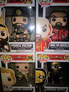 Funko Pop Flash Gordon Set Completo