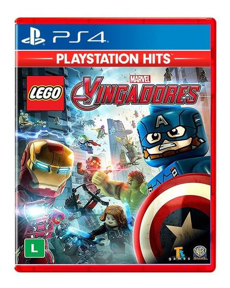 Lego Marvel Avengers Vingadores Ps4 Português Midia Fisica